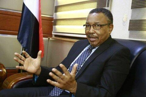 عمر قمر الدین وزیر امور خارجه سودان