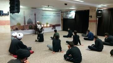 تصاویر/ دوره میثاق طلبگی در مدرسه علمیه امام صادق (ع) قروه