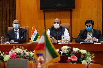 توئیت وزیر دفاع هند پس از سفر به ایران