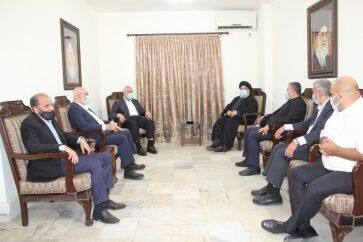 Sayyed Nasrallah, Haniyeh stress stability of axis of resistance -  en.hawzahnews.com