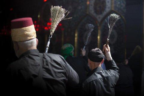 دسته های عزاداری در کربلای امام حسین (ع)
