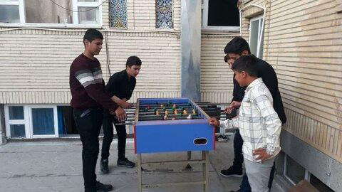 تصاویر/ دوره میثاق طلبگی در مدرسه علمیه امام صادق (ع) بیجار