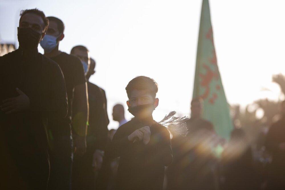 تصاویر/ ادامه حضور دسته های عزاداری در کربلای امام حسین (ع)