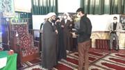 طلاب ممتاز و نخبه مدرسه علمیه امام صادق(ع) بهشهر تجلیل شدند