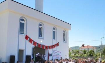 ششمین مسجد آلبانی افتتاح شد