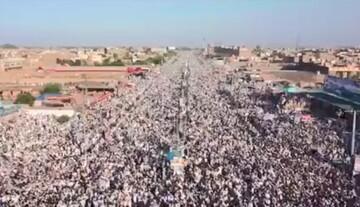فیلم | تظاهرات گسترده پاکستانیها در اعتراض به اقدام نشریه فرانسوی شارلی ابدو