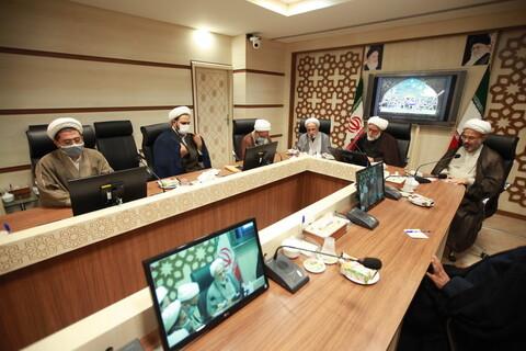 مراسم تکریم و معارفه معاون تهذیب حوزههای علمیه