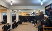 مراسم هفتم شهدای کربلا از سوی حوزه علمیه کربلا برگزار شد
