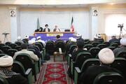 تصاویر/ هماندیشی نمایندگان استانی دفتر اجتماعی سیاسی حوزه در قم