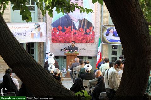 بالصور/ إقامة مجلس تأبين في الذكرى التاسعة والثلاثين لاستشهاد آية الله مدني (ره) في همدان