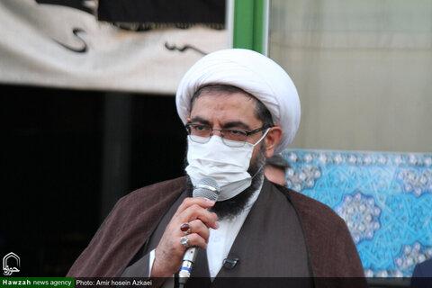 بالصور/ وقفات احتجاجية في مختلف مدن إيران في إدانة الإساء إلى المقدسات