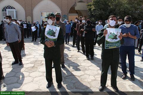 بالصور/ وقفات احتجاجية في مختلف مدن إيران في الإساءة الإساء إلى المقدسات