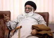 پاکستان میں فرقہ واریت کو ہوا دینے کیلئے اہلبیت ( ع ) کے مقابلے میں صحابہ کو پیش کیا جا رہا ہے، آہت اللہ ریاض نجفی