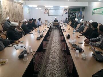 ظرفیت های فعالان حوزوی شیرازی مقیم قم بررسی شد