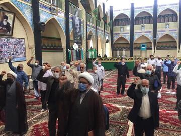 نمازگزاران رستاقی اهانت به پیامبر اسلام(ص) را محکوم کردند