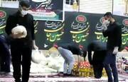 فیلم | کمک مومنانه در محله چهاربیشه شهرستان مسجد سلیمان