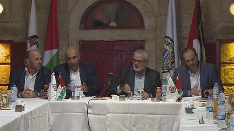 Ismail Haniyeh calls for unity among Palestinians