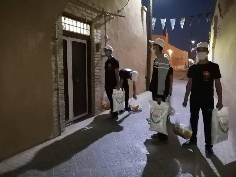 کمکهای مؤمنانه جامعه کاراته استان یزد به نیازمندان+ تصاویر