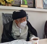 تبریک عضو شورای حوزه علمیه سمنان به فرماندار جدید دامغان