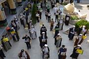 تصاویر / تجمع طلاب و روحانیون مدرسه علمیه صاحب الزمان(عج) مرند در محکومیت اهانت به پیامبر مهربانیها