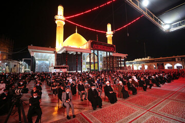 مراسم سالگرد انفجار حرم امامین عسکریین(ع) در سامرا برگزار شد