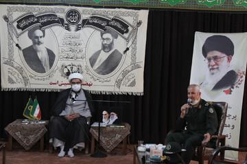 تصاویر/ نشست شورای هماهنگی حفظ آثار و نشر ارزشهای دفاع مقدس روحانیون در استان همدان