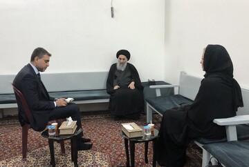 استقبال رئیس جمهور و نخستوزیر عراق از مواضع آیتاللهالعظمی سیستانی