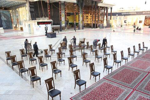 مراسم سالگرد انفجار تروریستی حرم امامین عسکریین (علیهما السلام) در سامراء