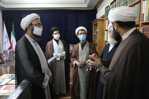 تصاویر/  بازدید مدیر و معاونان حوزه علمیه استان تهران از رسانه رسمی حوزه