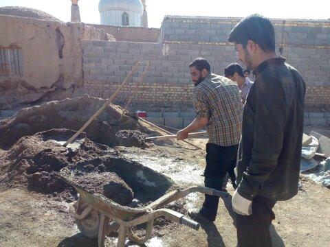 تصاویر/ ساخت منزل مسکونی محرومان توسط طلاب جهادی خراسان شمالی