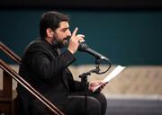 فیلم | مداحی امروز سید مجید بنی فاطمه در حضور رهبر انقلاب