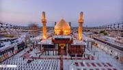 تصاویر/ جلوه ای زیبا از حرم امامین عسکریین (ع) در سالگرد انفجار