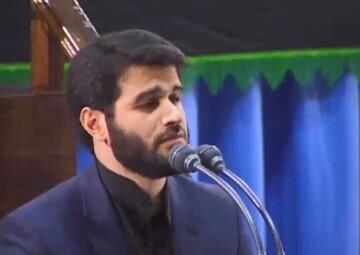 فیلم | مرثیهسرائی شهادت امام سجاد(ع) سال ۱۳۹۳ در حضور رهبر معظم انقلاب با نوای میثم مطیعی