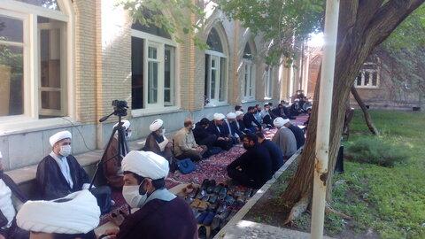 تصاویر / مراسم سوگواری شهادت امام سجاد (ع) در مدرسه علمیه طالبیه تبریز