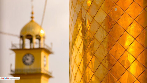 جلوه ای زیبا از حرم امامین عسکریین (ع) در سالگرد انفجار