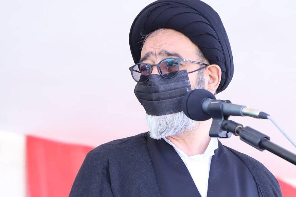 تشیع جنازه شهید محمدرضا سفیدی نسب