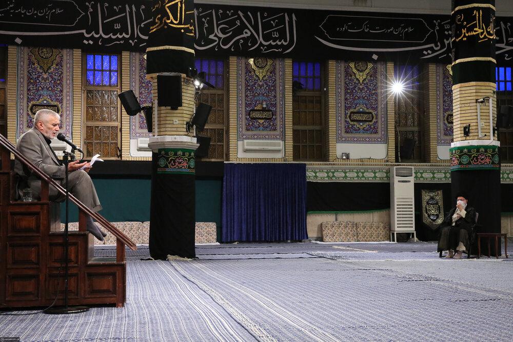 مراسم عزاداری روز شهادت حضرت امام سجاد علیهالسلام برگزار شد
