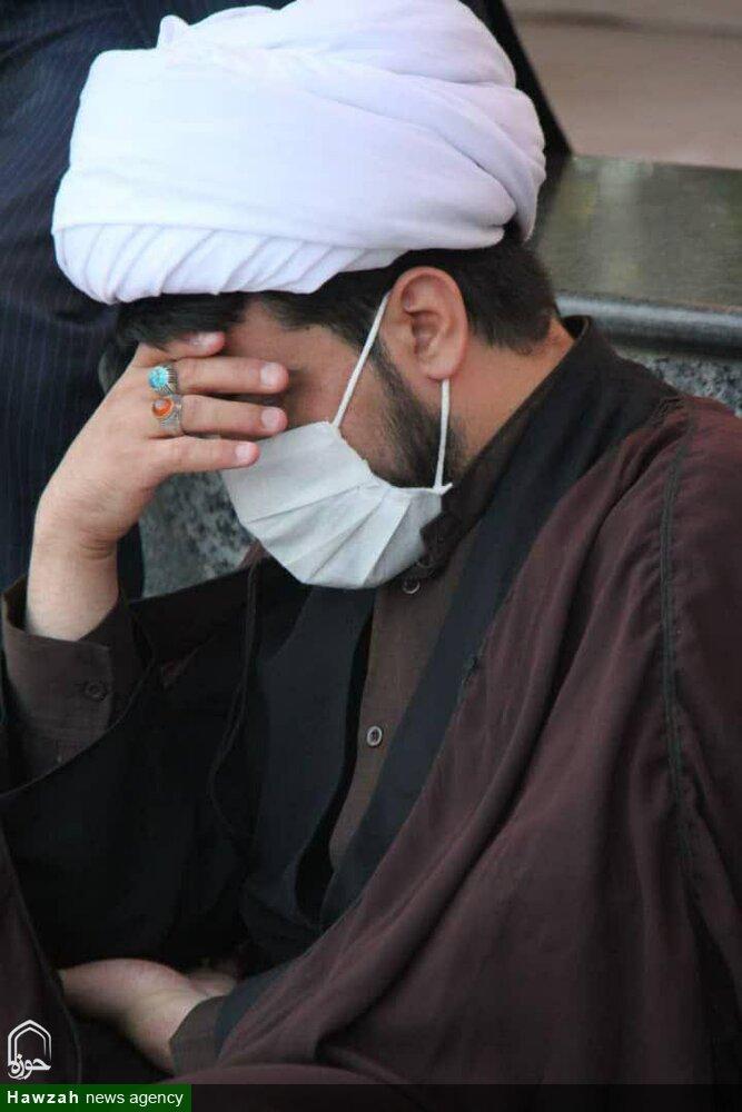 تصاویر/ سوگواری شهادت امام زین العابدین(ع)  در حرم محمد هلال بن علی (ع) آران و بیدگل