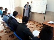 تصاویر/ دوره میثاق طلبگی در مدرسه علمیه امام باقر (ع) کامیاران