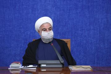 دکتر روحانی :  تلاش دولت این است که چرخه تولید در کشور متوقف نشود