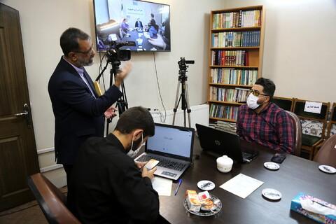 تصاویر/ اولین نشست از سلسله نشستهای تخصصی حوزه وفضای مجازی