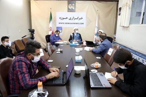 نشست تخصصی حوزه و فضای مجازی در خبرگزاری حوزه