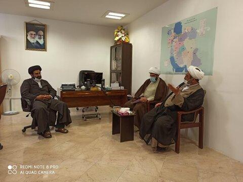 نشست مدیر و معاونان حوزه علمیه خوزستان، با مسئول مرکز امور طلاب و دانشآموختگان حوزههای علمیه کشور