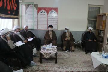تصاویر/ نشست مدیران و معاونین آموزش مدارس علمیه استان کردستان