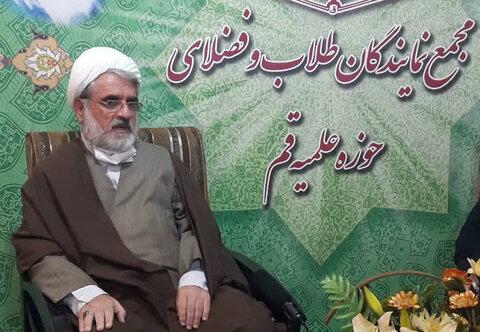 حجت الاسلام علی پسندیده، نماینده طلاب تالش و آستارا
