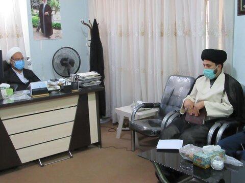 نشست هم اندیشی تعیین سرفصل های دروس اقتضایی  مدارس علمیه خواهران  استان یزد