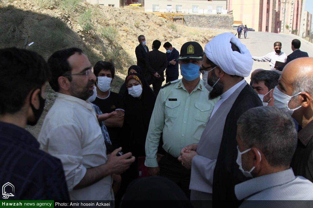 فیلم | بازدید سرزده امام جمعه همدان از منطقه کوی فردوس