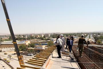 تصاویر/ بازدید نماینده ولی فقیه در استان همدان از پروژه روگذر شهید همدانی