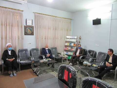 نشست با موسس مدرسه علمیه خواهران حضرت سید الشّهداء(علیه السلام) یزد