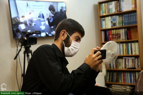 """بالصور/ إقامة ندوة تخصصية تحت عنوان """"الحوزة والعالم الافتراضي"""" في وكالة أنباء الحوزة بقم المقدسة"""